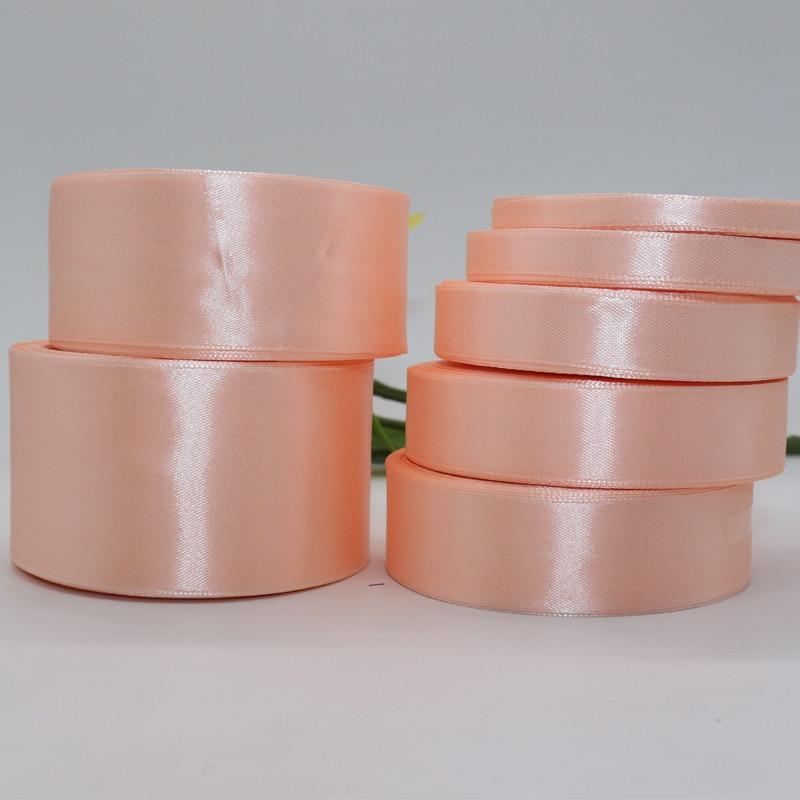 25 Yardslot 3 mm-50 mm Width Silk Satin Ribbon DIY Material Fabric Webbing Ribbons For Gift Wrapping Wedding Paty Decoration