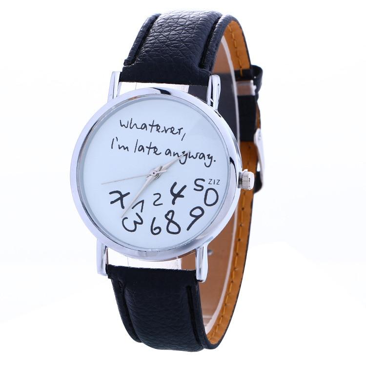 2020 New Luxury Brand Leather Quartz Watch Women Ladies Girls Fashion Wrist Watch Bracelet Wristwatc
