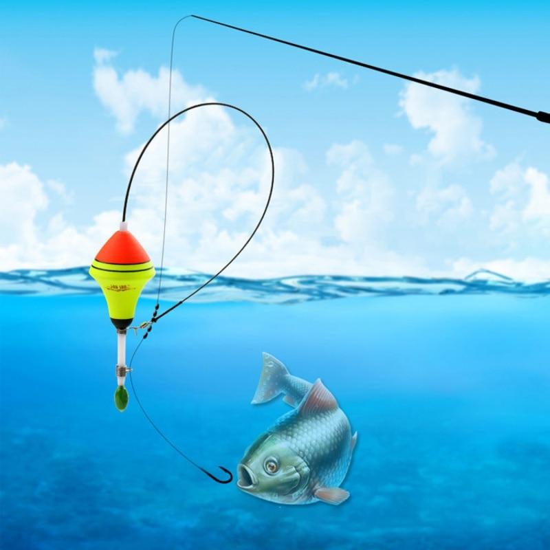 AliExpress - Automatic Fishing Float 1Pcs Long Water Drop Carp Professional Nano EVA Tackle Night Light Fishing Luminous Float accessories