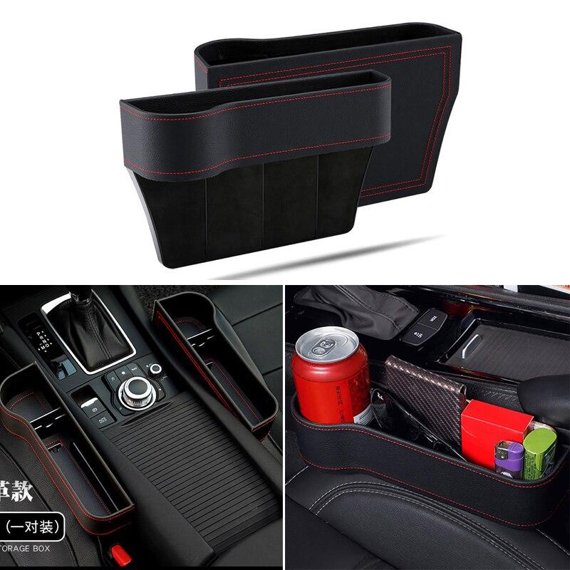 Ящик для хранения, автомобильный органайзер, сиденье для автомобиля, Боковой разрез для Honda civic accord crv fit city hrv Subaru Forester Outback Legacy XV WRX