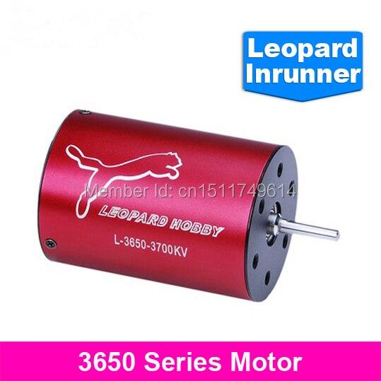 Frete grátis!! Leopard LBP3650/3D 4550KV 4 Poloneses Inrunner Brushless para Barco