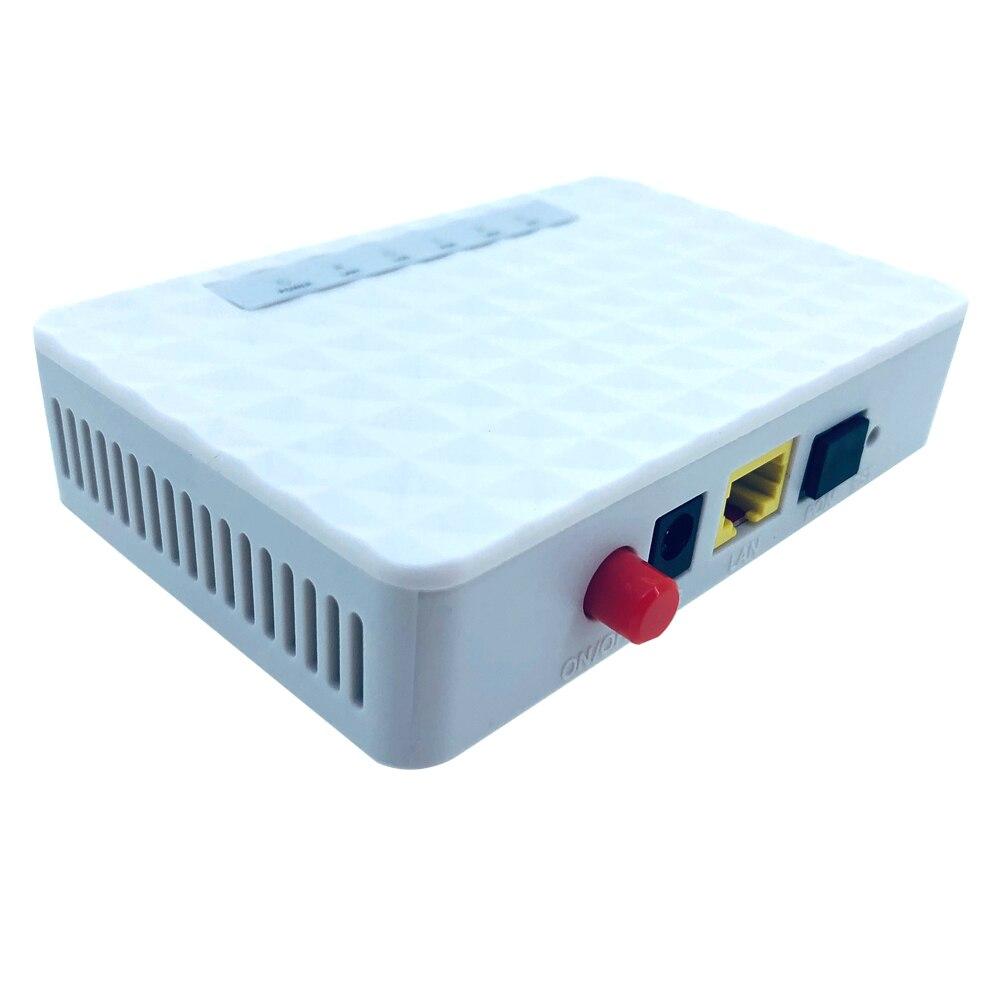 2 uds 1G1 Puerto onu gpon onu epon olt gpon 1,25G EPON ONU FTTH FTTO FTTB ethernet pasiva de fibra de dispositivo con adaptador