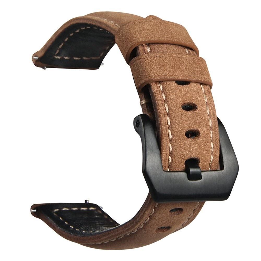 22 MILÍMETROS Correia em Couro Genuíno Para A Engrenagem S3 Substituição Faixa de Relógio Pulseira de Relógio Inteligente Para A Engrenagem S3 Clássico fronteira Inteligente relógio