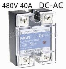 Mager ssr 40a 480 v DC-AC 솔리드 스테이트 릴레이 품질의 제품 MGR-1 d4840