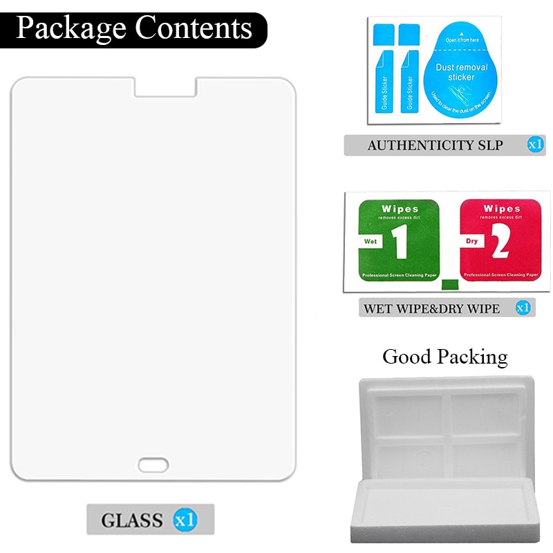 Купить с кэшбэком 9H Tempered Glass for Asus ZenPad 8.0 Z380 Z380C Z380M Z380KL Screen Protector 8 inch Tablet Protective Glass Film Guard Premium