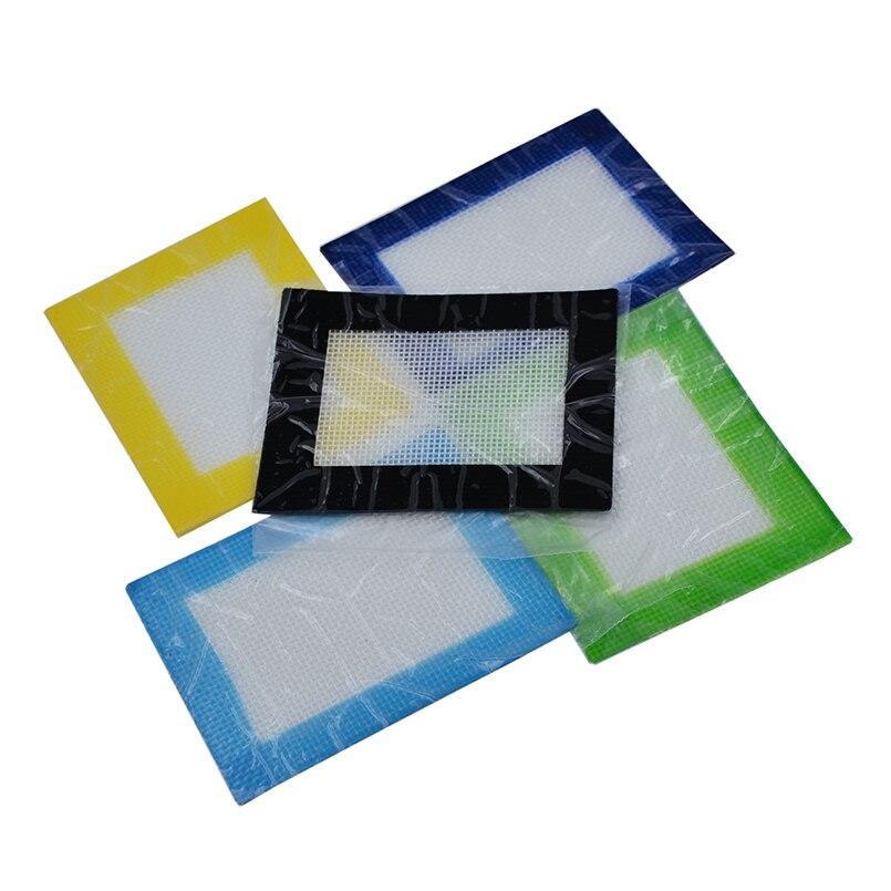 Bho tapis de cire pour Dab Silicone   11x8.5cm de Silicone, butane de cuisson, tampon de cuisson concentré dhuile, 4 pièces