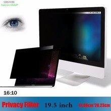 19.5 pouce filtre de confidentialité écran Anti-éblouissement film de protection, szégychx pour ordinateur portable 1610 ordinateur portable 41.86cm * 26.23