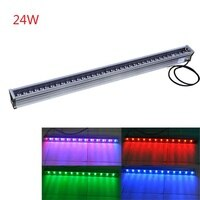 Wholesale-Free shipping 10pcs 24W LED Wall Washer Light outdoor LED light Waterproof IP65 Led flood lights 1000*46*46mm