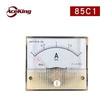 85C1 direct current ammeter mechanical meter direct current analog meter head 50 100 200 500MA 1A 2A 5A 10A 20A