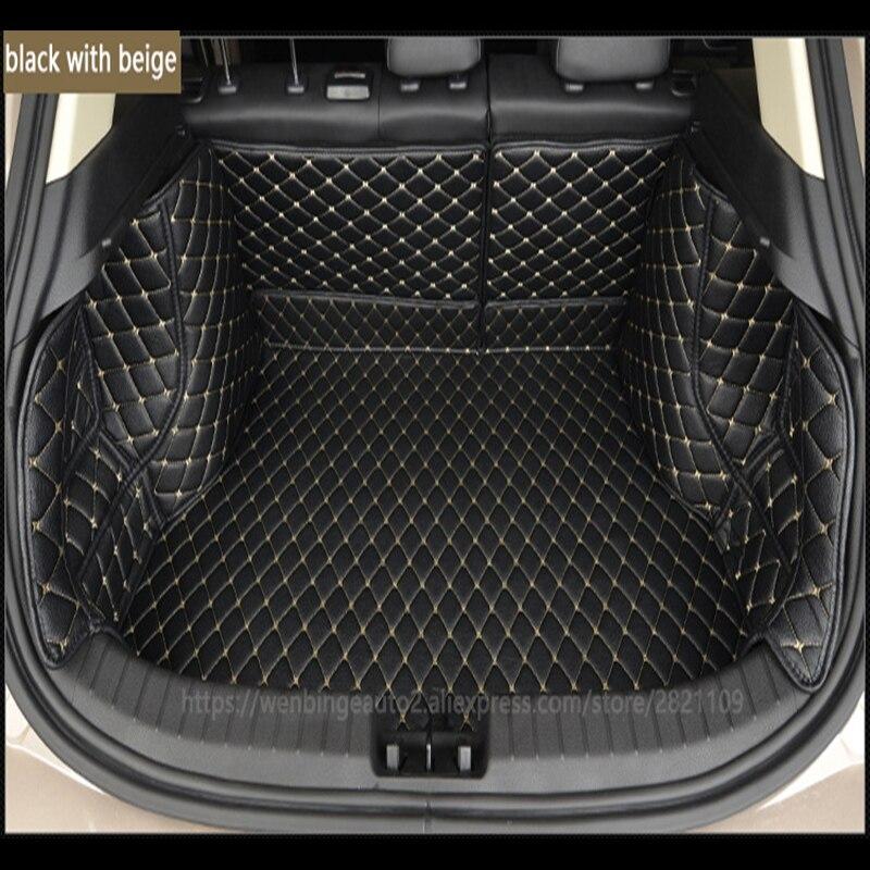 De estera de maletero de coche de carga del trazador de líneas para Volvo todos los modelos s60 v40 xc70 v50 xc60 v60 v70 s80 xc90 v50 c30 s40 de carga del trazador de líneas