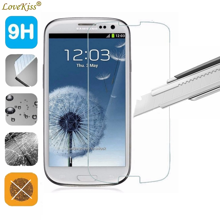 9H Tempered Glass Film For Samsung Galaxy S3 SIII Neo i9301i I9300i GT-i9300 Screen Protector Protec