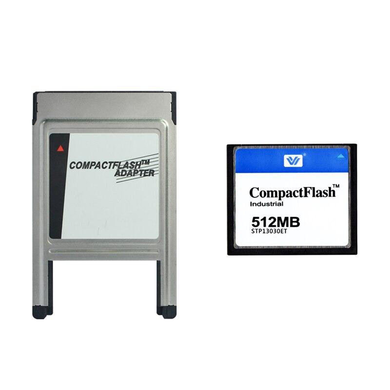 Venta al por mayor 128MB 256MB 512MB 1GB 2GB 4GB CompactFlash tarjeta CF con adaptador PCMCIA tarjeta de memoria para Mercedes Benz MP3 PCMCIA de memoria