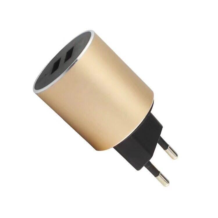 USB Cargador/adaptador de corriente enchufe puerto Dual europea estándar de 5V 2.1A...