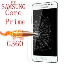 9H verre trempé pour Samsung Galaxy Core Prime G360 G361 G3608 SM-G361H SM-G360H SM-G361F protecteur décran Films étui