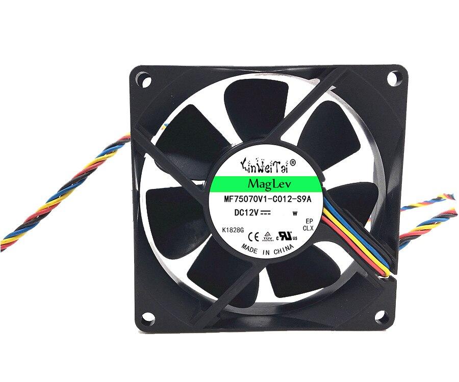5 uds. 8cm 80x80x20mm 12v DASA0820R2U MF80201VX-Q000-S99 PVA080F12H P02-. Ventilador con cubierta...