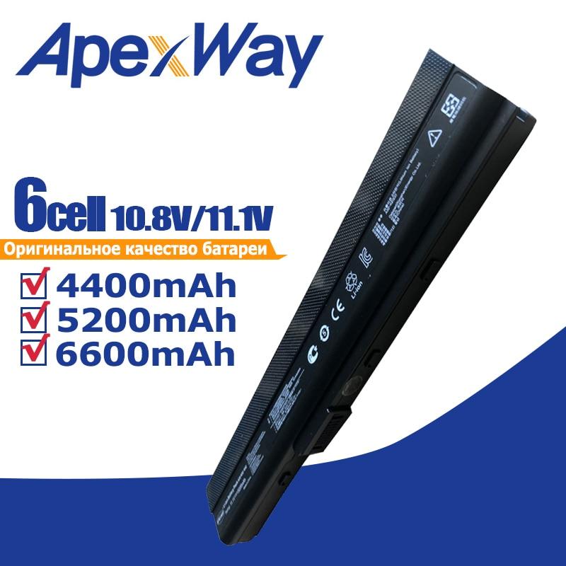 Batería del ordenador portátil para Asus 70-NXM1B2200Z A31-K52 A32-K52 A41-K52 A42-K52 A52 A52F A52J A52JB A52JK A52JR K42 K42F K42JB