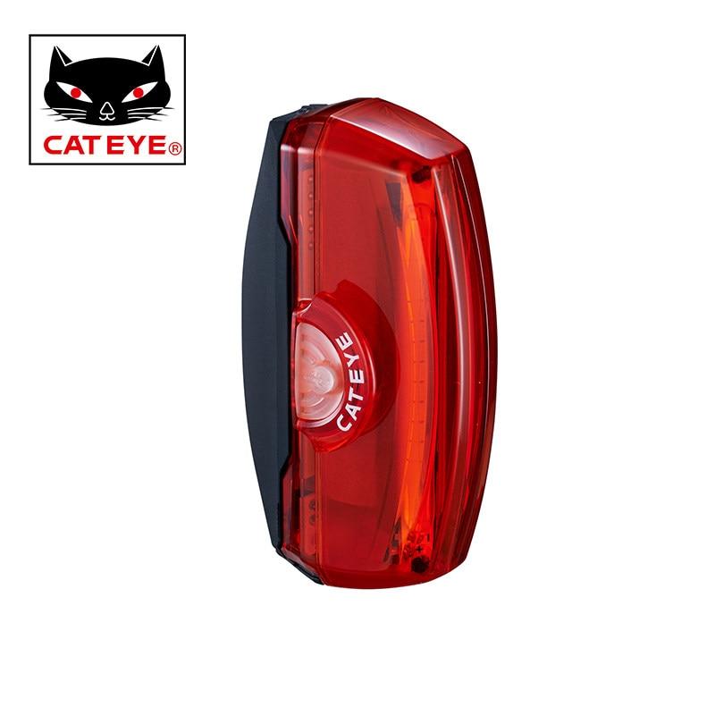 CATEYE TL-LD700 Fahrrad Rücklicht Usb-wiederaufladbare COB LED Fahrrad Rückleuchten Mountainbike Warnung Licht Radfahren Ausrüstung
