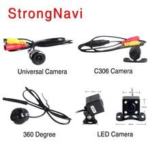 Waterproof camera car rear view camera rearview Back Parking Monitor 360 Degree universal auto camera night vision HD CCD
