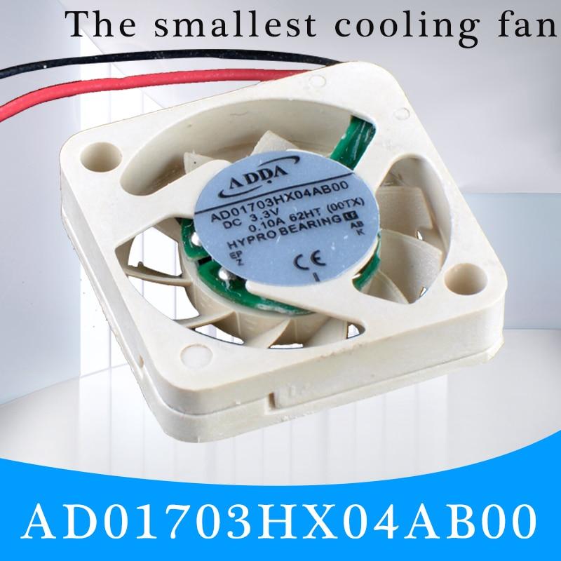 Ventilador UAV cooling Revolution AD01703HX04AB00 1704 17x17x4mm 3,3 V 0.10A