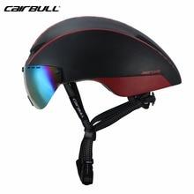 Cairbull Helm Fiets Mtb Nieuwe Model 8 Kleur Aero Aero-r1 Goggles Fiets Ultralight Mtb Tt Magnetische Uv Zonneklep