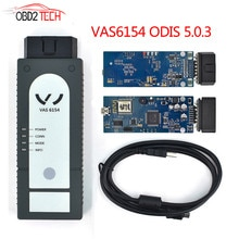 Nouvel outil de Diagnostic VAG Wifi VAS6154 ODIS 5.1.3 pour V W pour Audi pour Skoda VAS 6154 Scanner mieux que VAS5054A + installer la vidéo