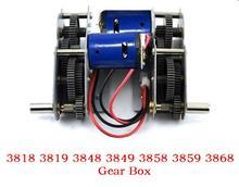 Henglong 3838 3839 3878 3889 3908 3918 1/16 RC tank 380/390motors/steel gears set/steel gearbox with 380 motor