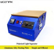 Wozniak 220V polarisant Film séparateur MS-350 Explosion écran réparation outil lumière polarisée Machine séparée excellente qualité