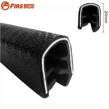 H20mm U образная резиновая Звукоизоляционная уплотнительная лента для автомобильной морозильной камеры SUV Car Door Frame