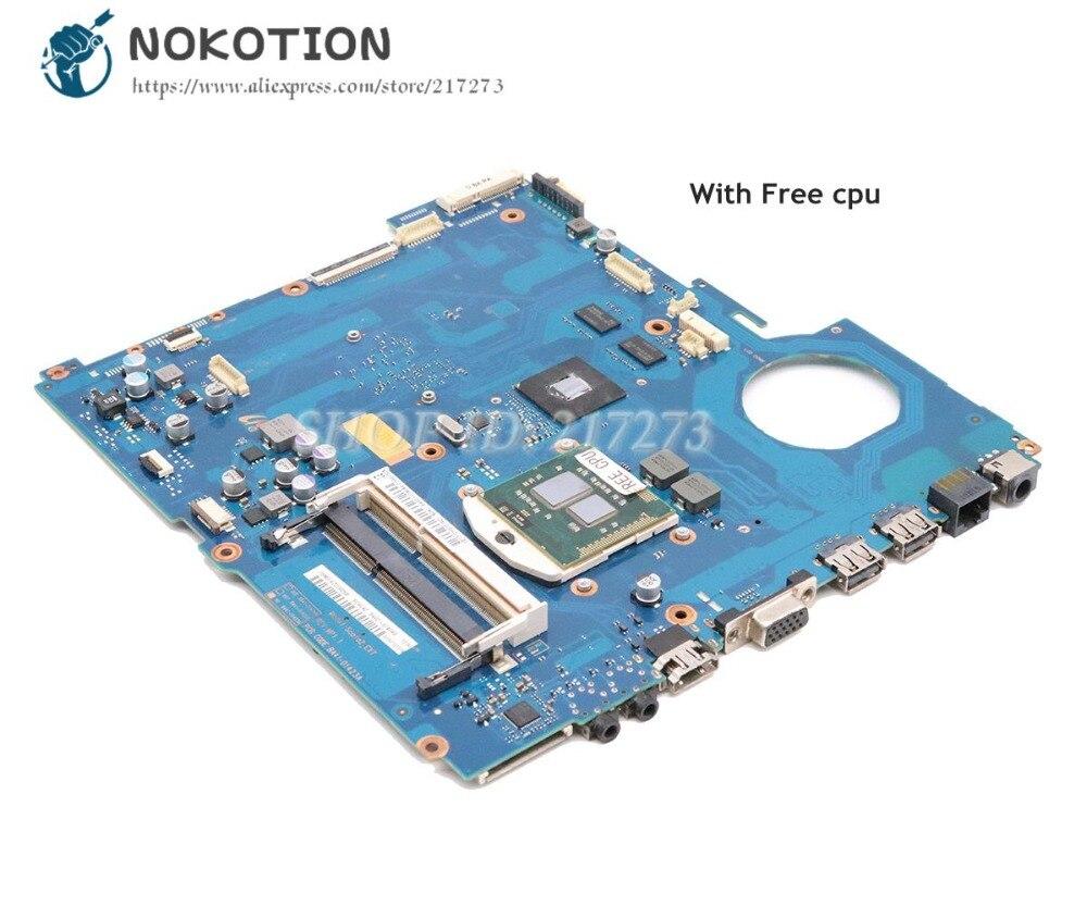 NOKOTION Para Samsung RV511 NP-RV511 placa De Vídeo de Laptop Motherboard HM55 DDR3 GT315M BA92-07405A BA92-07405B BA41-01423A 15.6 Polegadas