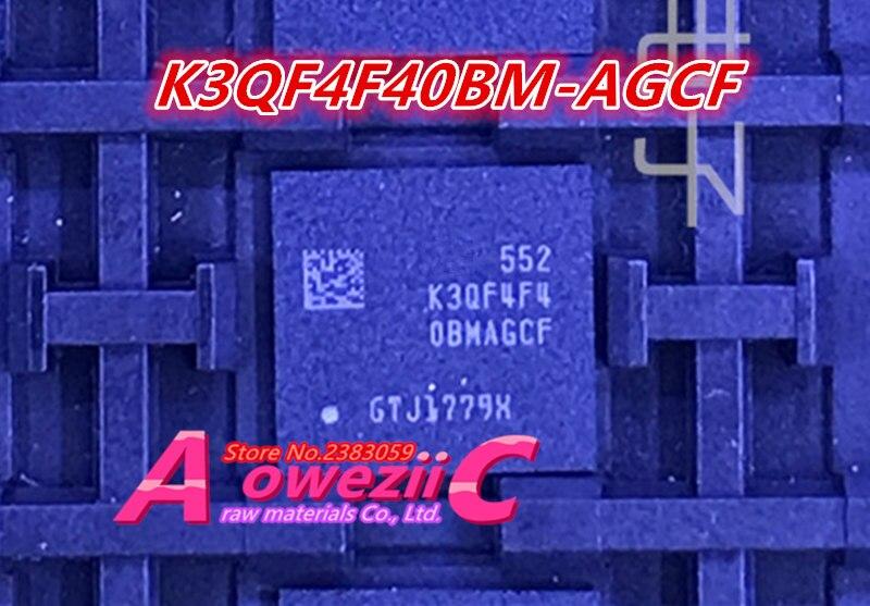 Aoweziic 100% nuevo original K3QF4F40BM-AGCF BGA EMMC chip de memoria K3QF4F40BM AGCF