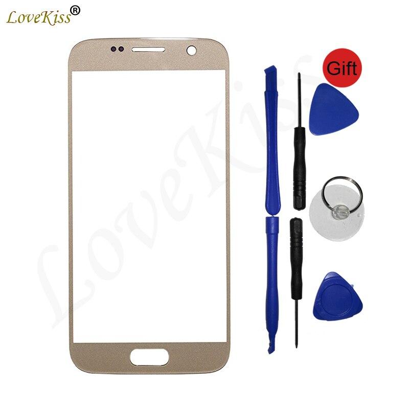 S7 Touchscreen Panel Für Samsung Galaxy S7 G930 G930F G930FD Touchscreen Sensor LCD Display Digitizer Glas Abdeckung Ersatz