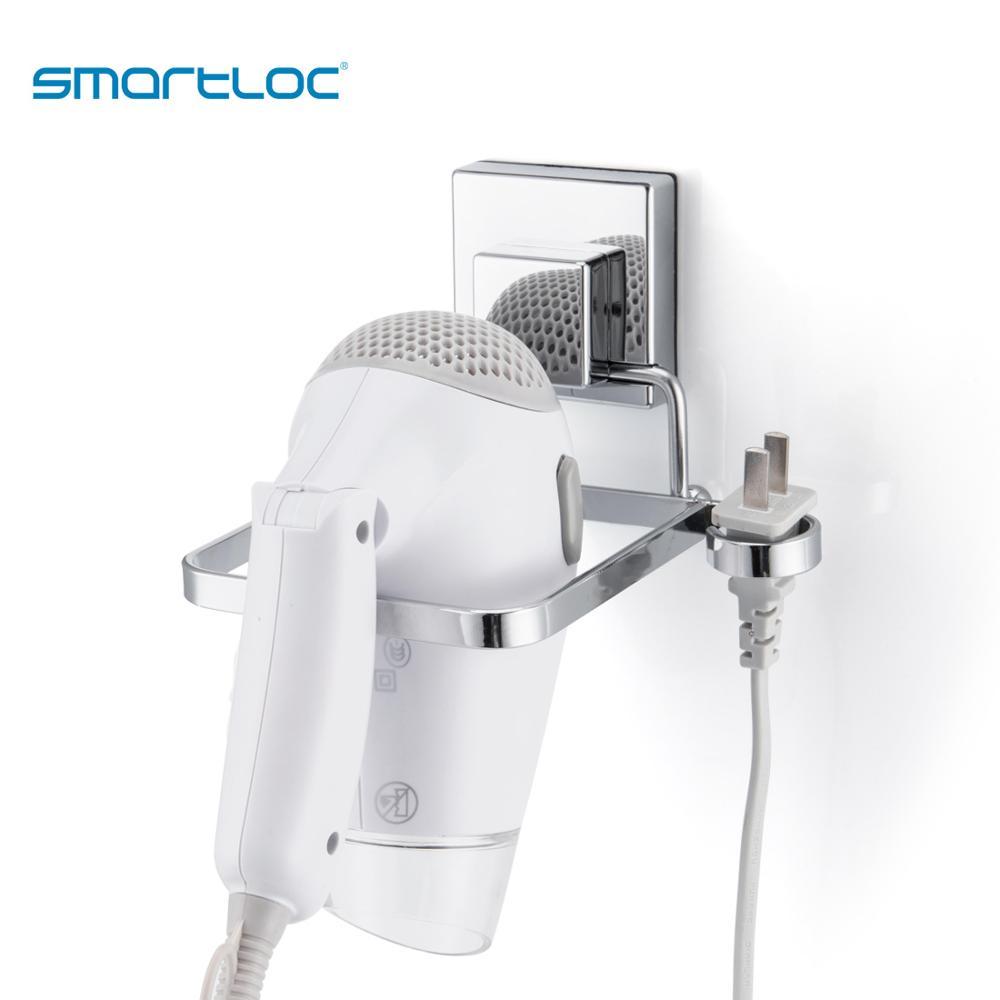 Smartloc كوب شفاط المكنسة الكهربائية مجفف الشعر حامل مجفف رف اكسسوارات الحمام تخزين الحاويات المنظم
