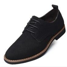 حجم كبير 38-48 أنيقة الجلد المدبوغ مقاوم للماء أحذية من الجلد للرجال أحذية مريحة للتنفس حذاء الرجل الموضة Oxfords