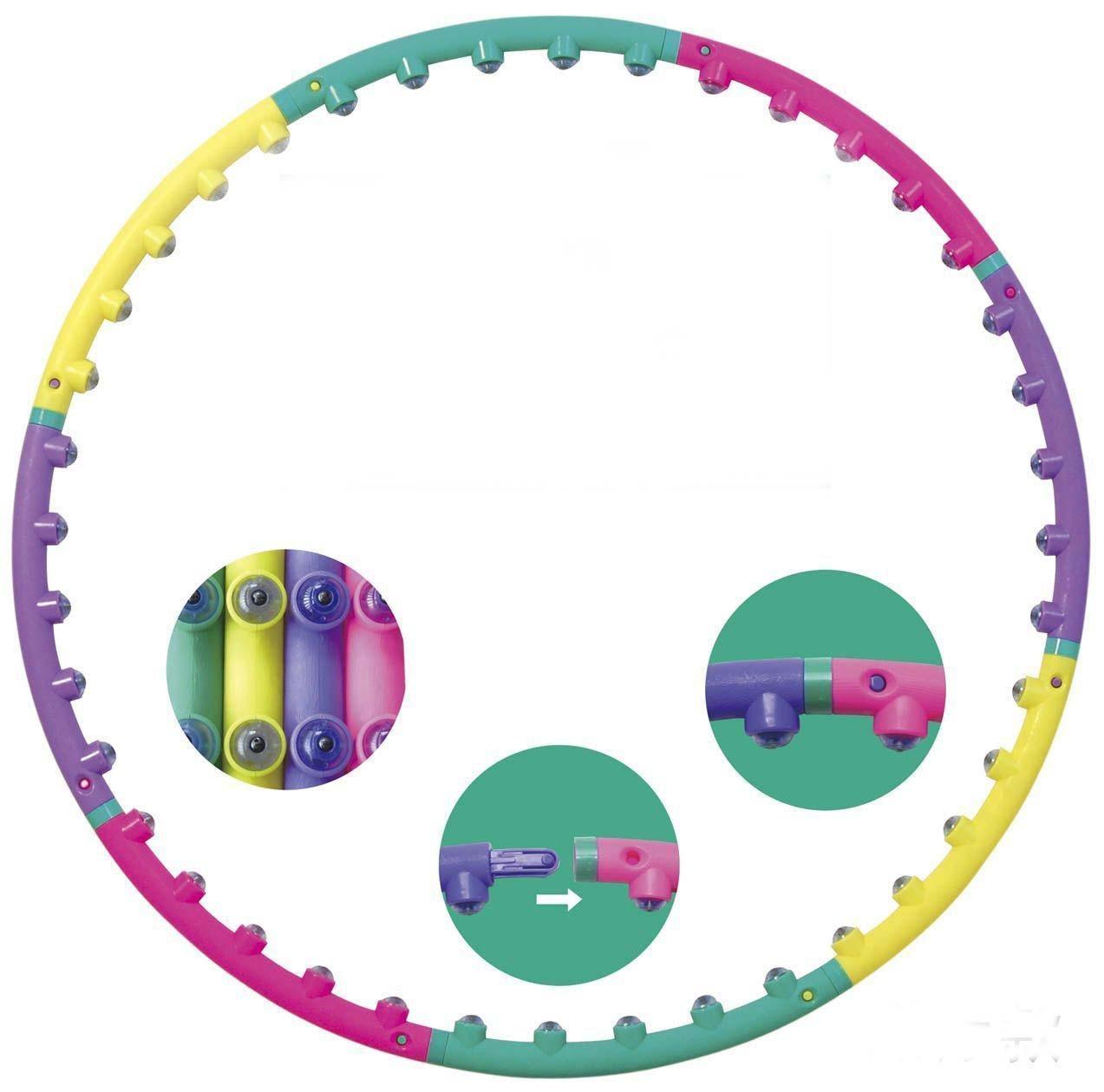 Йога Талия упражнения для похудения спортивные обручи массажные петли кольцо для гимнастики жесткий тубус круг для женщин снижение веса фитнес оборудование