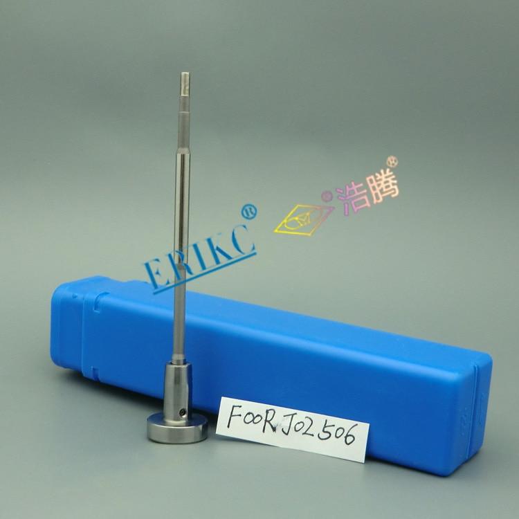 ERIKC F00R J02 506 Válvula de inyector common rail piso J02 506 conjunto de válvulas para bosch 0445120199, 0445120181, 0445120257, 0445120257