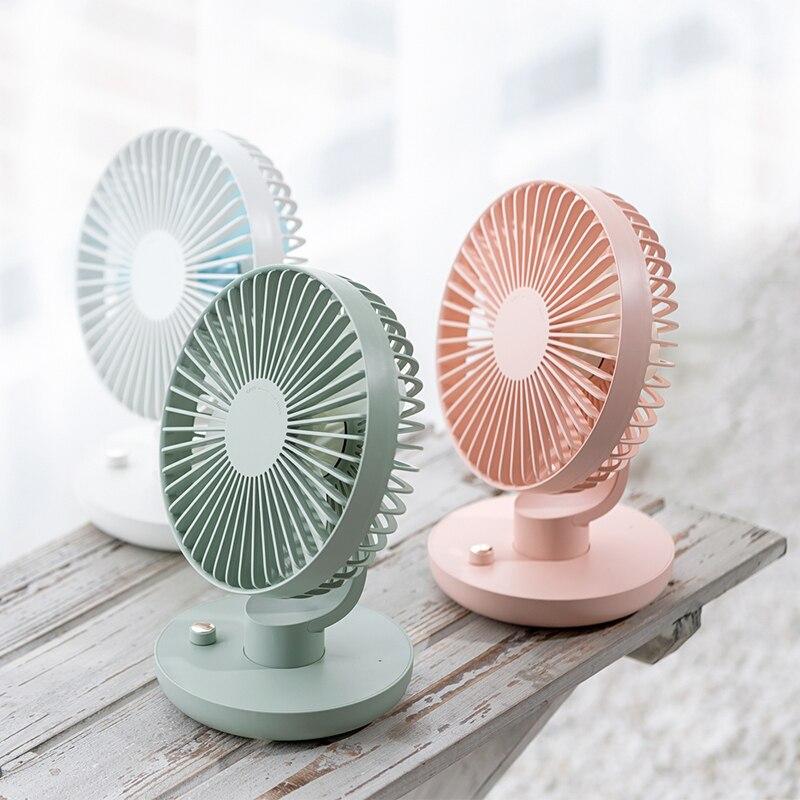 Mini ventilador recargable al aire libre 3000 mAh cabeza de Ballet sacudida...
