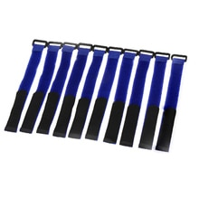 10 unids/set 20*2cm útil fuerte RC lipo batería antideslizante Cable de amarre correas 20*2cm Color al azar