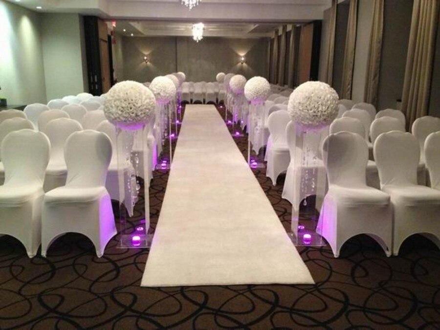 "16 ""40 cm tamaño grande blanco leche moda cifrado Artificial Rosa bolas de flores de seda para centros de mesa de la boda decoración"