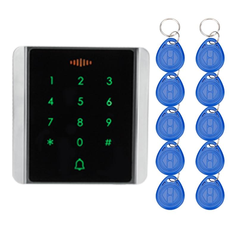 RFID автономный контроль доступа сенсорная Водонепроницаемая клавиатура электронный дверной замок БЕСКЛЮЧЕВОЙ замок шкафа для системы безо...
