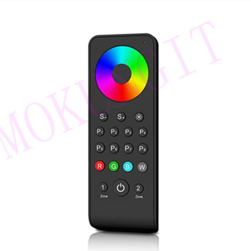 2 zonas 2,4G RGB/RGBW control remoto RS3