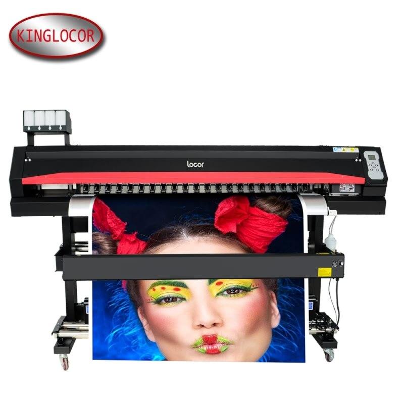 Przystępna cenowo profesjonalna duża fotografia cyfrowa drukarka plakatowa Eco Solvent 100M sieć dobra rozdzielczość