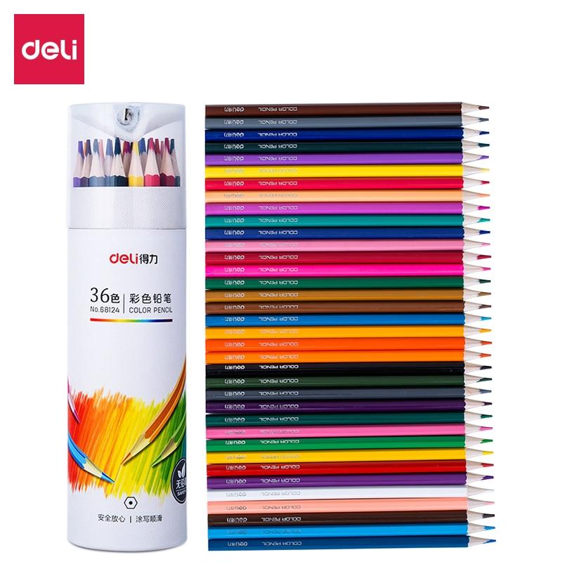 36 lápices de colores 4B, bolígrafo de dibujo hexagonal, bolígrafo de dibujo Estudiante de pintura con revestimiento de grafiti, pintura de plomo de color, arte profesional deli