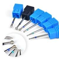 zko 1pcs gift 332 diamond burr milling cutter nail drill bit ceramic stone drill nail art machine tools