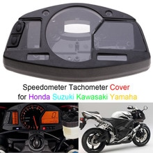 Medidor de Caso Capa para Honda Suzuki Kawasaki Yamaha CBR 600/1000RR ZX6R/10R GSXR600/750/1000 YZF R1/R6 Velocímetro Tacômetro
