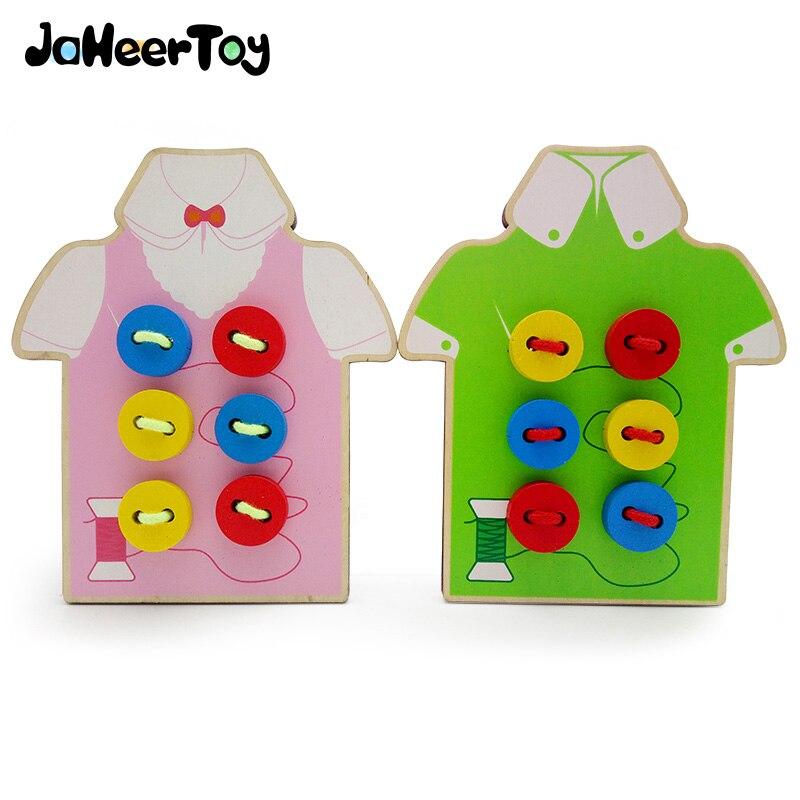 JaheerToy, juguetes para bebés, para niños, usan botones juguete educativo Montessori, ropa de aprendizaje para primera infancia, ropa encantadora