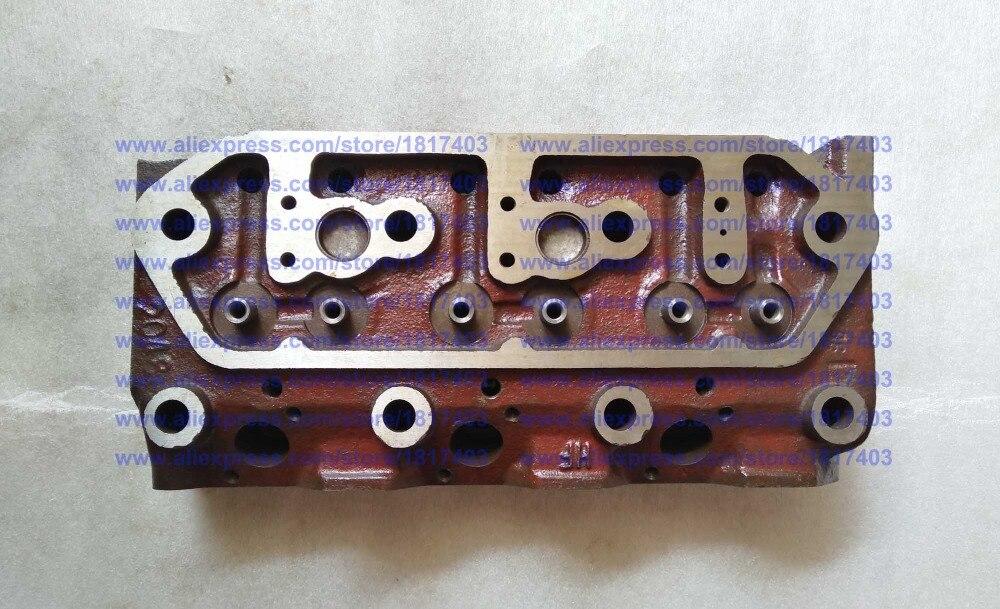 "Culata de LL380T-03101, modelo ""B"", piezas de motor diésel Laidong KAMA, LL380T"