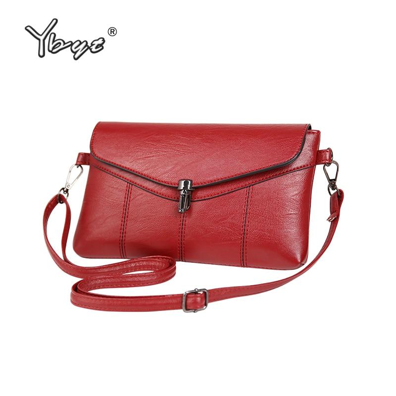 YBYT brand 2019 new women vintage casual clutch bags small messenger bag ladies bullet hasp evening bag shoulder crossbody bags