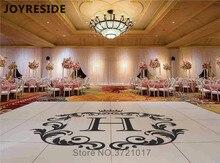 Autocollant de danse de mariage personnalisé   Autocollant mural en vinyle avec motifs de fleurs du marié, Design Simple mode, dessins M367