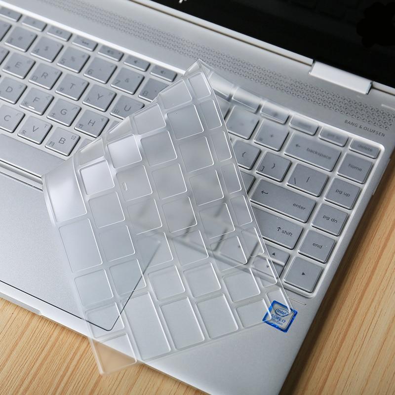 XSKN для HP Spectre X360 сенсорный экран ноутбука (2017 новейшая модель) 13 дюймов прозрачный ТПУ Невидимая клавиатура обложка кожа Пленка Наклейки