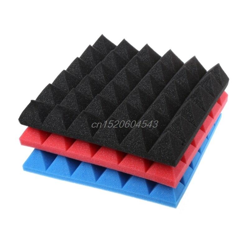 Bandeja de cuña de absorción de sonido acústico de espuma de estudio de 30x30x5cm R06 venta al por mayor y DropShip